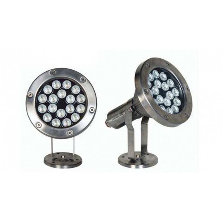 LED水下灯 防水地埋灯 七彩水下灯 喷泉景观水下灯