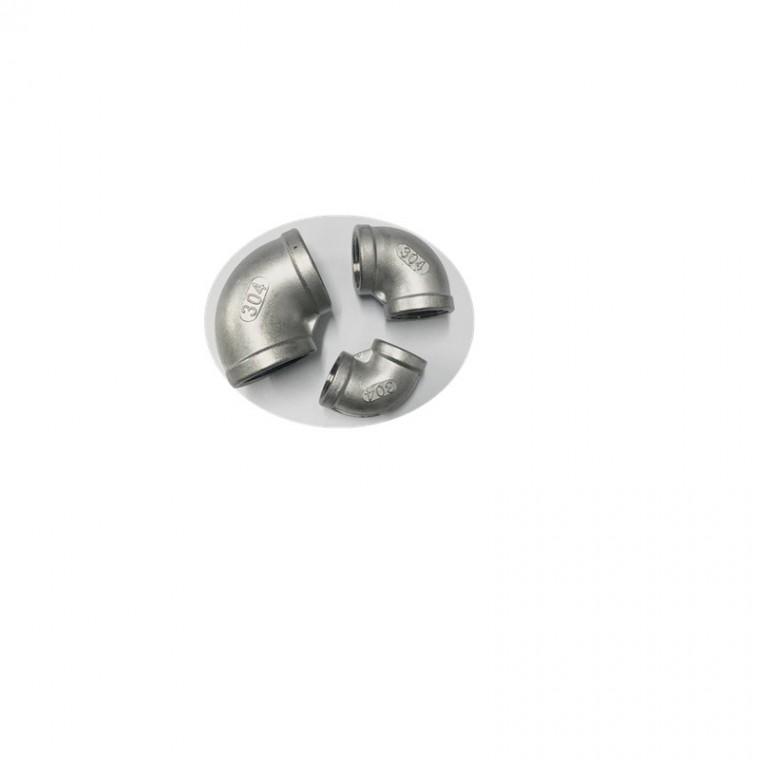 不銹鋼彎頭90°彎頭、內螺紋鏈接 、鑄造廠家