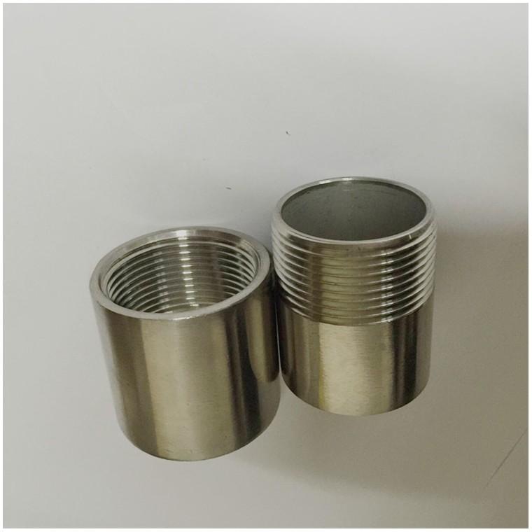 1寸不銹鋼單頭絲也叫內接焊接單頭絲、支持來電定制非標