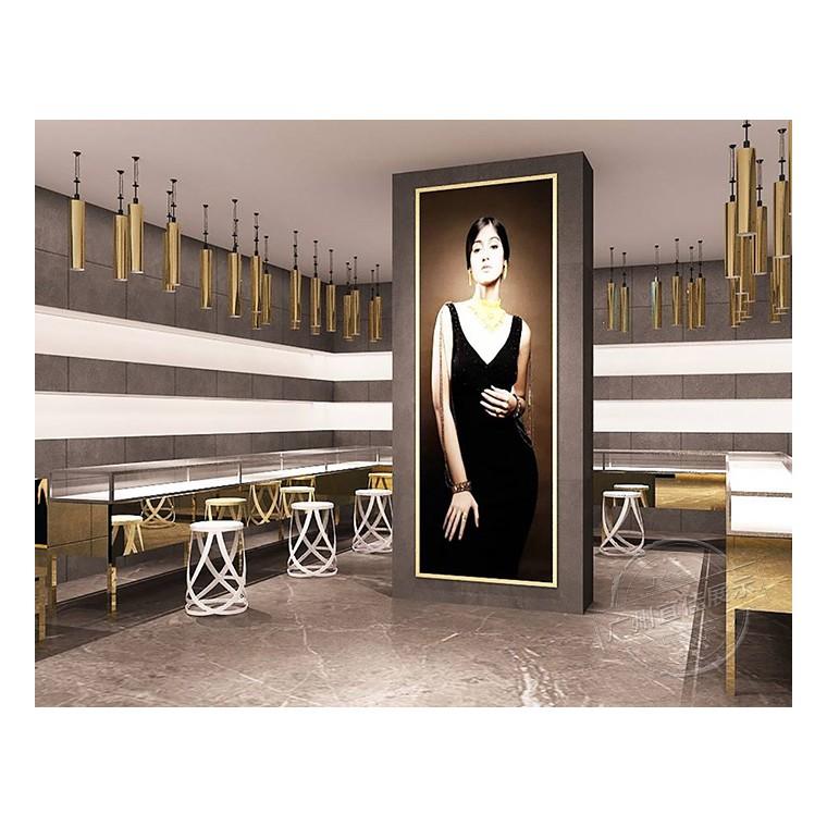 商场珠宝展柜提高营销效益的办法
