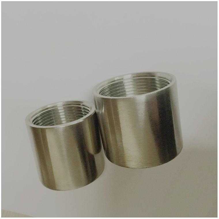廬威不銹鋼加厚內牙直通 全牙通絲外接 不銹鋼絲扣管件