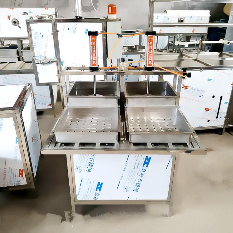 临汾豆腐机厂家 全自动豆腐成型机 一键式气压成型机