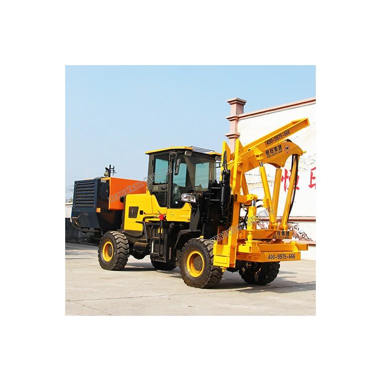 供應多功能波形護欄打樁機 公路護欄安裝設備 護欄打樁機