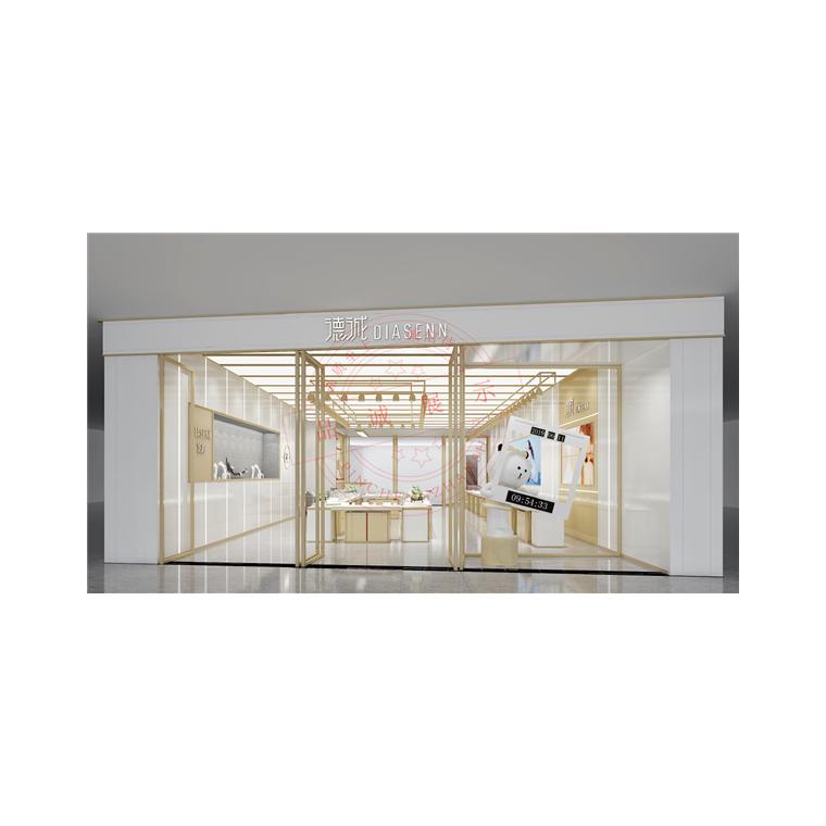 德誠珠寶店面設計展柜制作-珠寶展柜設計制作-品誠展示柜廠家