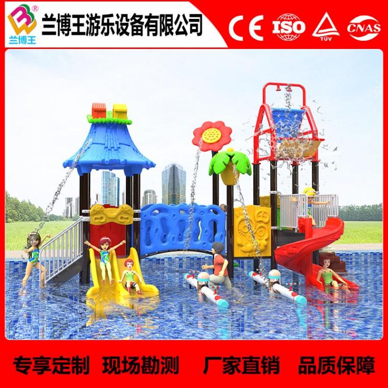 厂家直销大型户外水上塑料滑梯 水上乐园游乐设施设备水上滑梯