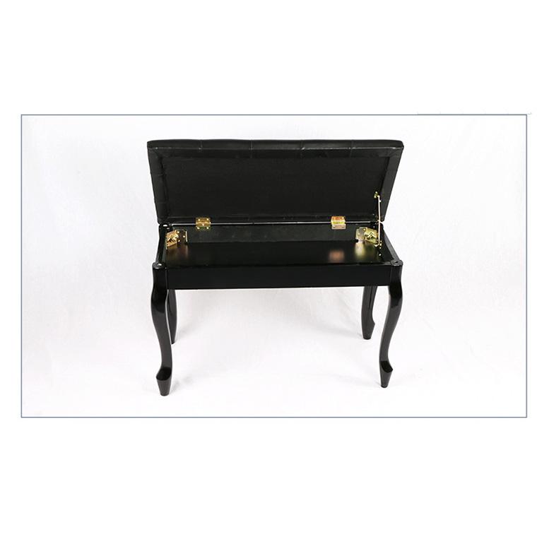雙人儲物箱琴凳