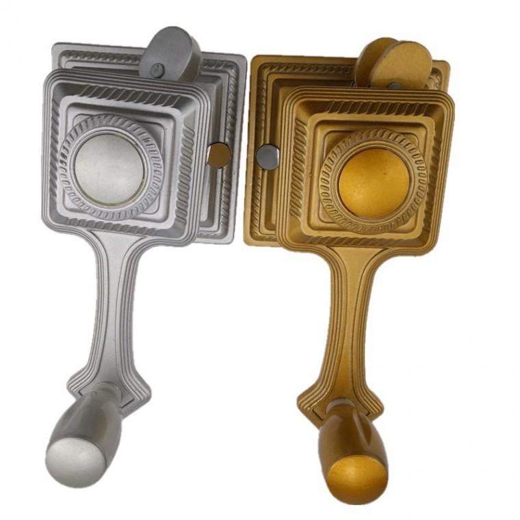 陽臺多功電動掛衣桿手搖器 鋁合金晾衣桿升降手搖器