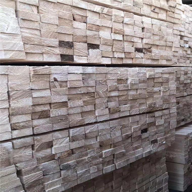 建筑木方白松价格