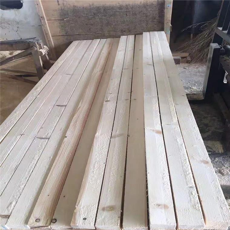 建筑木方白松供应