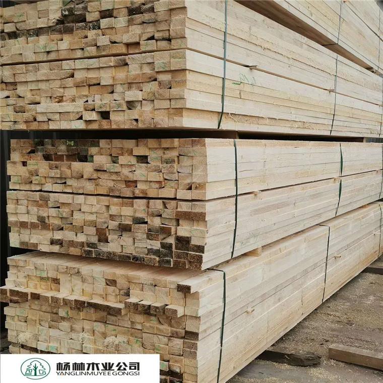 加工建筑木方白松