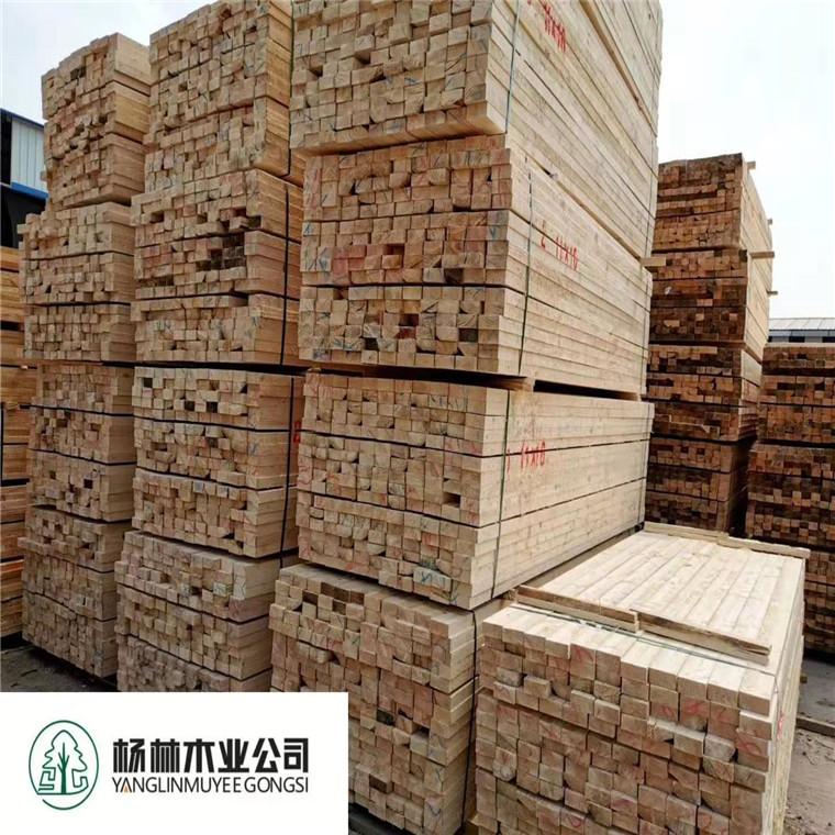 建筑木方辐射松价格低