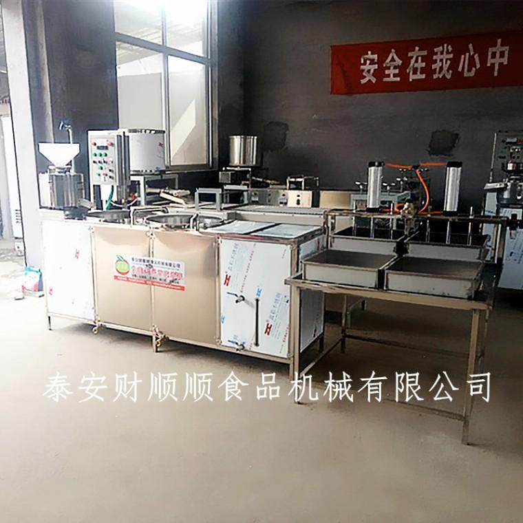 陕西豆腐机生产厂家 智能豆腐机 豆腐加工设备