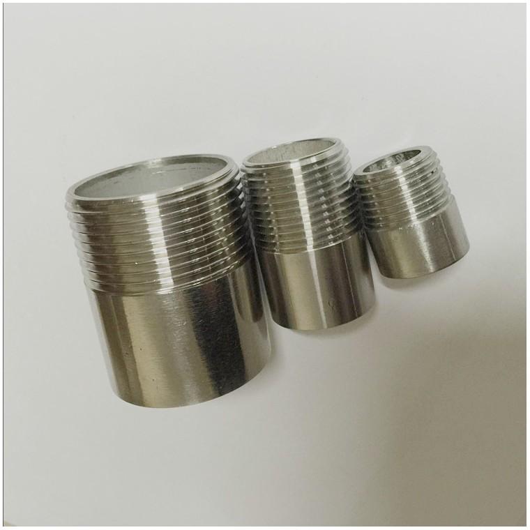 不銹鋼焊接單頭絲 加長加厚單頭絲定制非標水暖五金