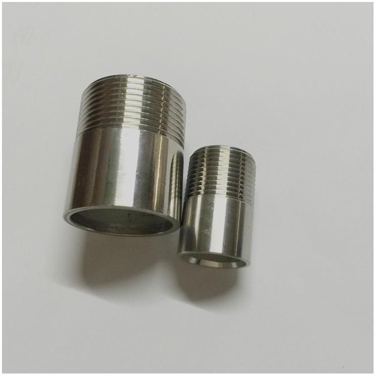 廠家供應不銹鋼單頭絲也叫內接 焊接單絲接 電定制非標產品