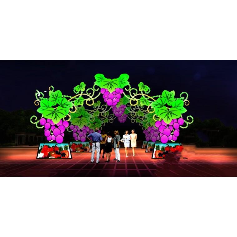 藝術燈光展制作活動藝術特色策劃