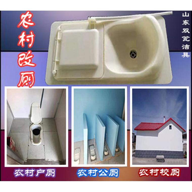農村廁所改造糞尿分集專用蹲便器