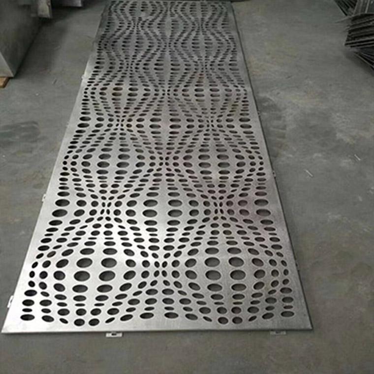 沖孔氟碳鋁單板
