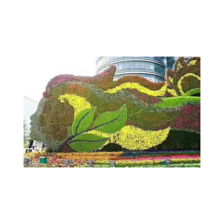 五色草造型雕塑