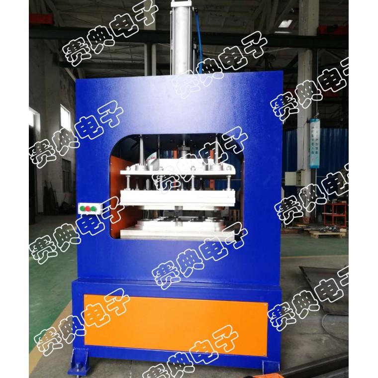 源頭廠家 海綿雙層復合布料熱壓熔接機 海綿壓花壓痕機