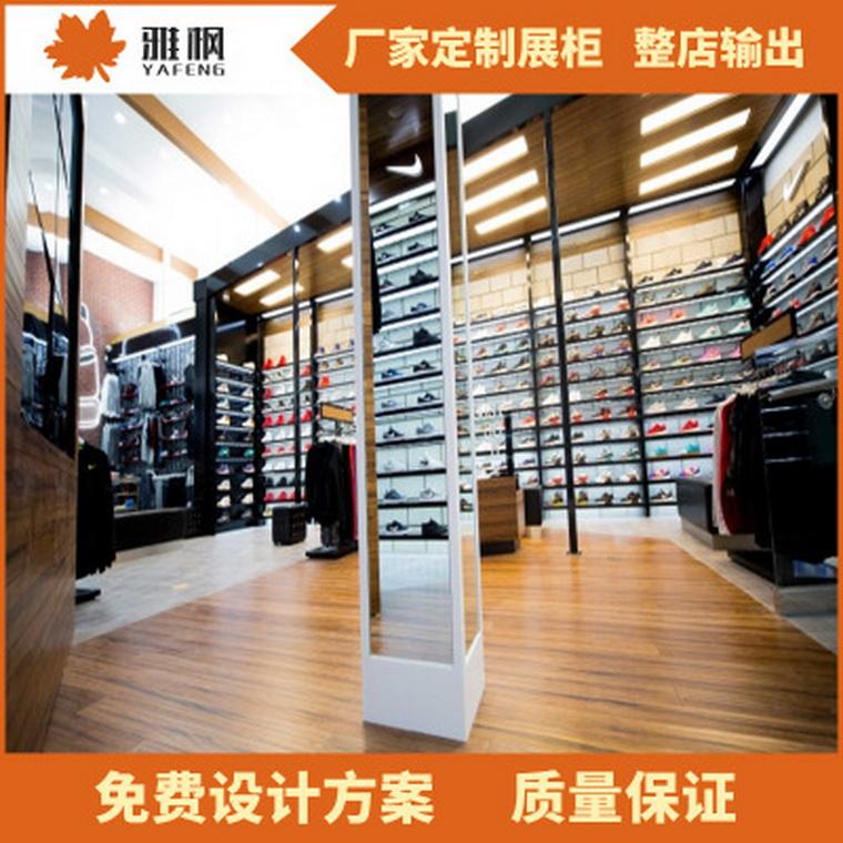 廠家定制鞋子不銹鋼展示架運動鞋展柜鞋柜 潮牌運動鞋子展示柜