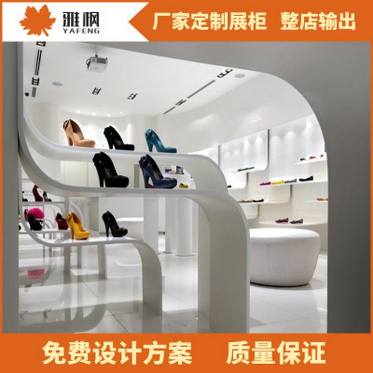 2017新款廠家定做白色鞋架 白色烤漆木鞋架組合鞋架四層鞋架