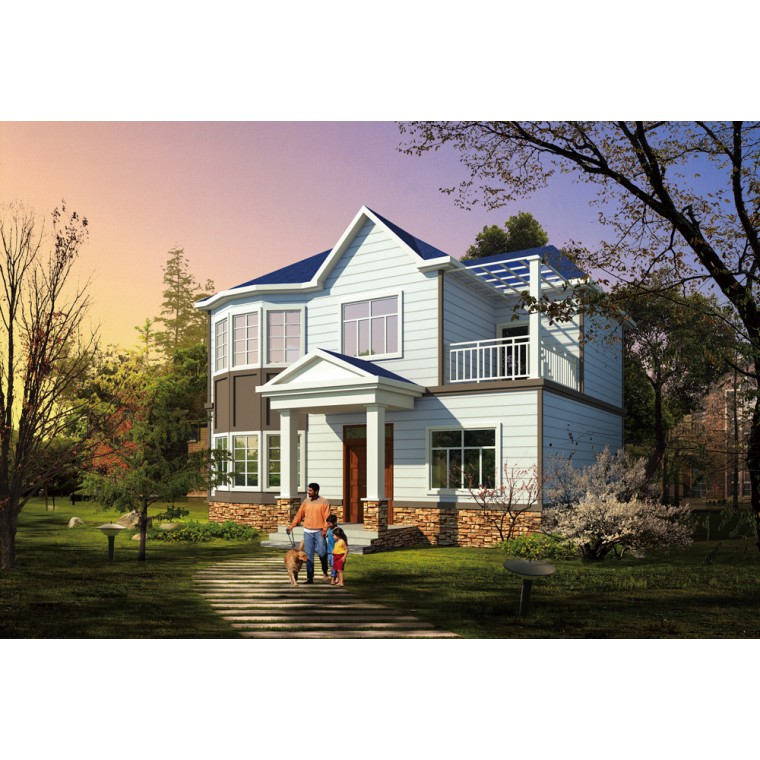 金剛木輕鋼別墅,輕鋼房屋建造,輕鋼結構別墅房,輕鋼房屋費用,