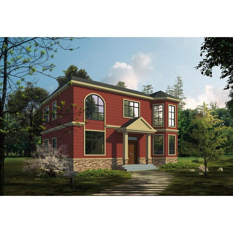 二層輕鋼別墅費用,卡式輕鋼龍骨,農村輕鋼別墅造價,農村輕