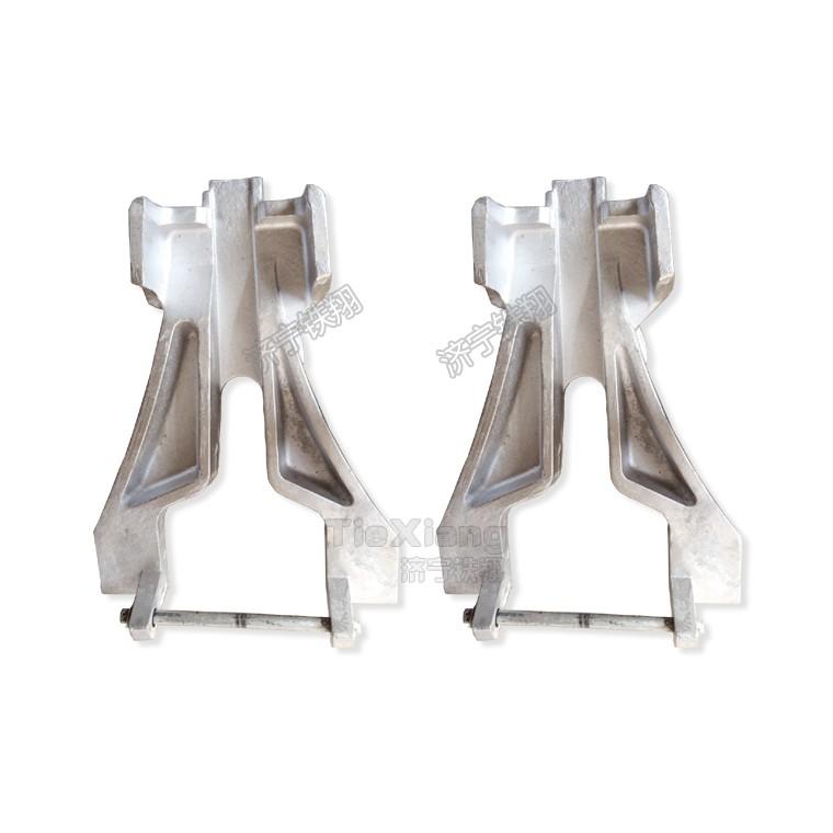 人字型鋁合金復軌器