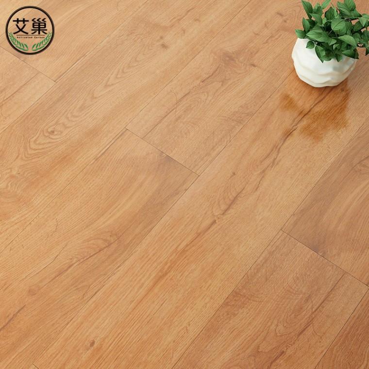 廠家直銷竹木碳纖維吸音鎖扣地板,安裝便捷地板,防霉省心地板