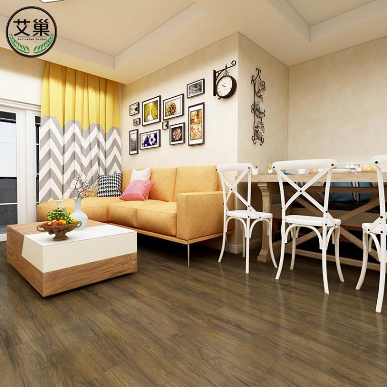 厂家直销WPC厚实锁扣地板,防水防滑耐磨地板,绿色美观地板