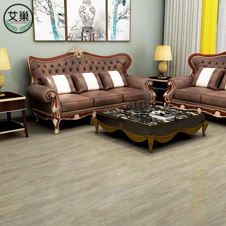 廠家直銷WPC竹木碳纖維鎖扣地板,環保防水阻燃耐磨卡扣地板,