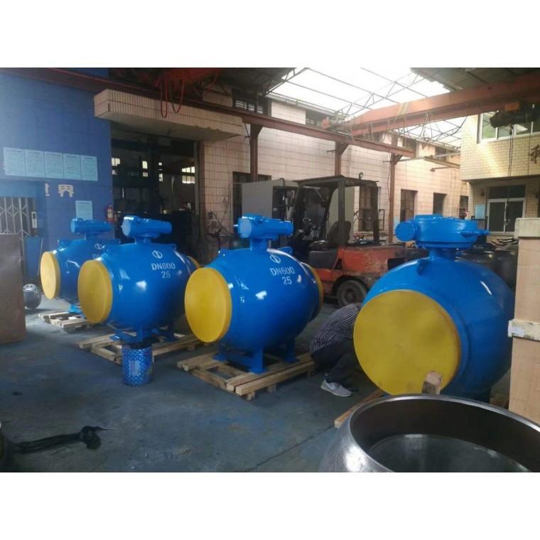 固定式渦輪全焊接球閥標準特征