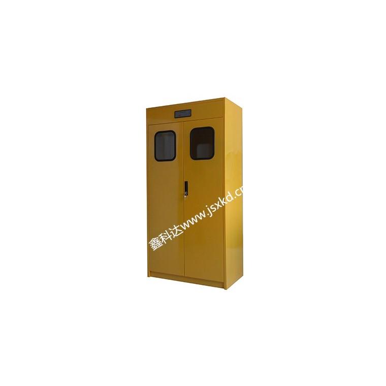 全鋼氣瓶柜 ,有毒氣體,助燃氣體(氧氣)鋼瓶的存儲.