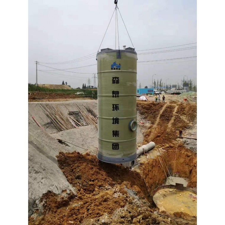 四川一体化预制泵站,一体化提升泵站设计,安装,施工