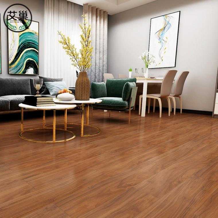 厂家直销WPC现代轻奢地板,防火阻燃省心锁扣地板,耐用地板