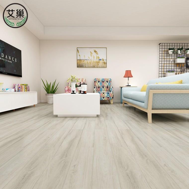 廠家直銷WPC卡扣環保地板,水泥地樓梯可用地板,耐磨耐劃地板