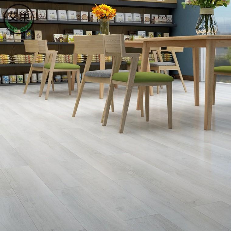 廠家直銷LVT水泥的瓷磚地板貼,防水耐磨酒店可用木紋地板貼