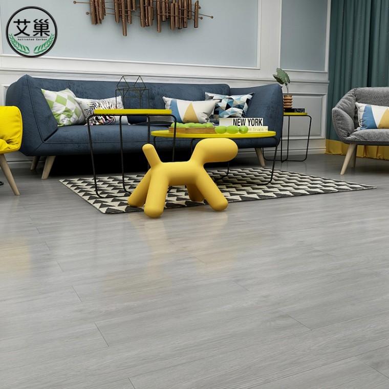 厂家直销PVC防烟烫自粘地板革,防水毛坯房塑料地板砖贴纸