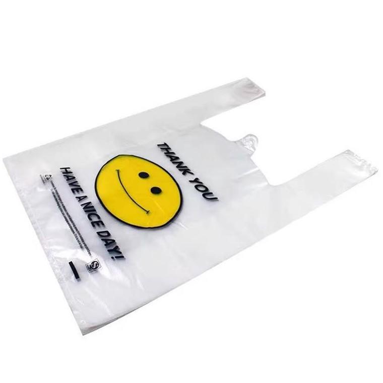 笑臉袋加厚手提袋購物方便袋塑料袋定制