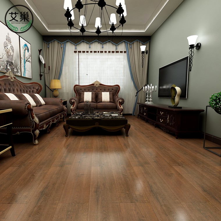 加厚耐磨防水锁扣SPC地板,石塑地板商用地胶PVC卡扣木地板
