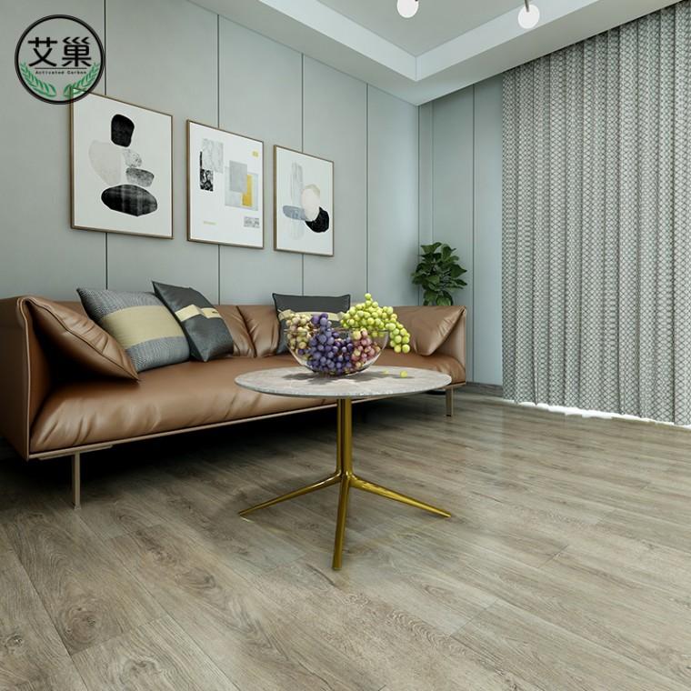 毛坯房简约SPC锁扣多层复合卡扣式pvc地板家用卧室防水防腐
