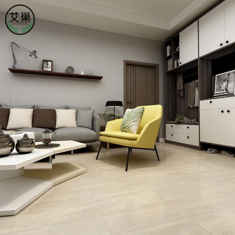 廠家直銷衛生間仿實木商用SPC鎖扣地板,家用加厚卡槽地板