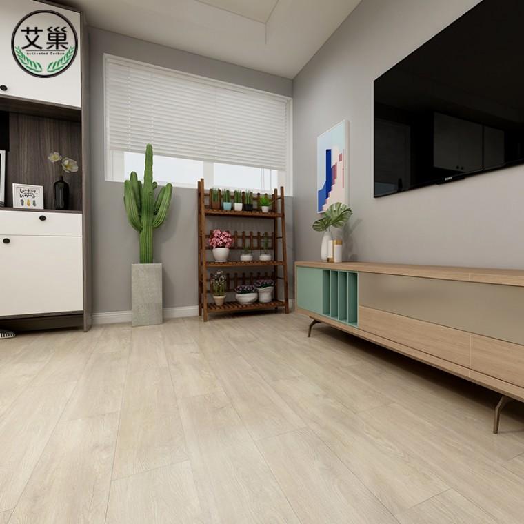 廠家直銷SPC防潮防霉石塑地板,家用工裝E0級環保防水地板