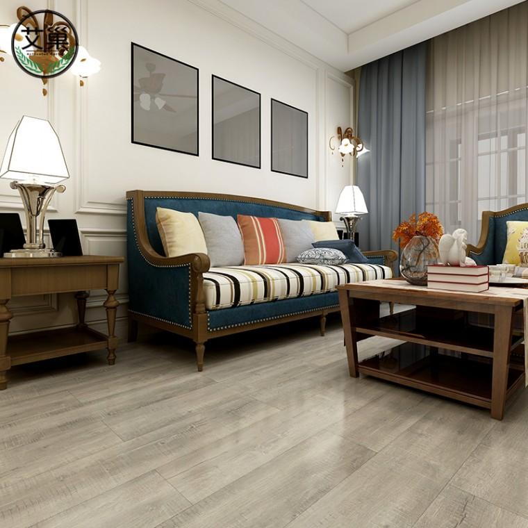 廠家直銷SPC厚實防水鎖扣木紋地板,別墅地下室專用木地板