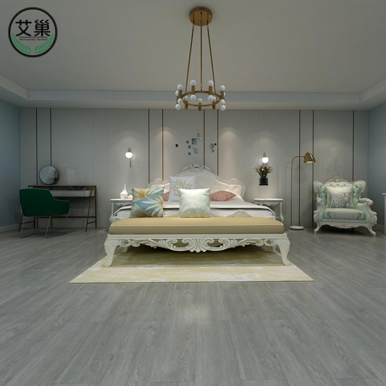 廠家直銷SPC鎖扣地板石塑地板,PVC環保加厚防水塑料地板