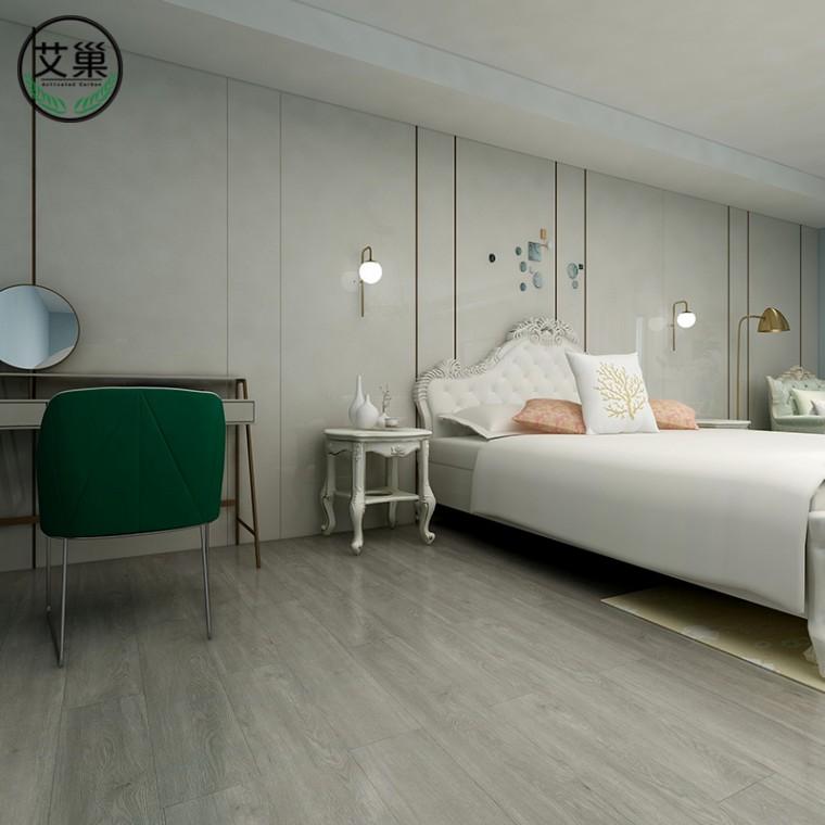 廠家直銷舊房翻新SPC鎖扣地板,家用商用綠色環保卡扣地板