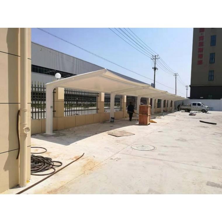 供應膜結構雨棚價格戶外膜結構停車棚多少錢價格優惠 質量可靠
