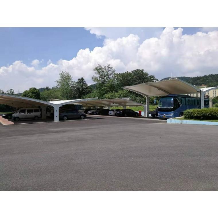 膜結構圖片自行車膜結構停車棚公司價格優惠 質量可靠