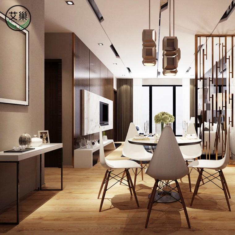廠家直銷竹木碳纖維防水鎖扣地暖地板,WPC翻新出租便捷木地板