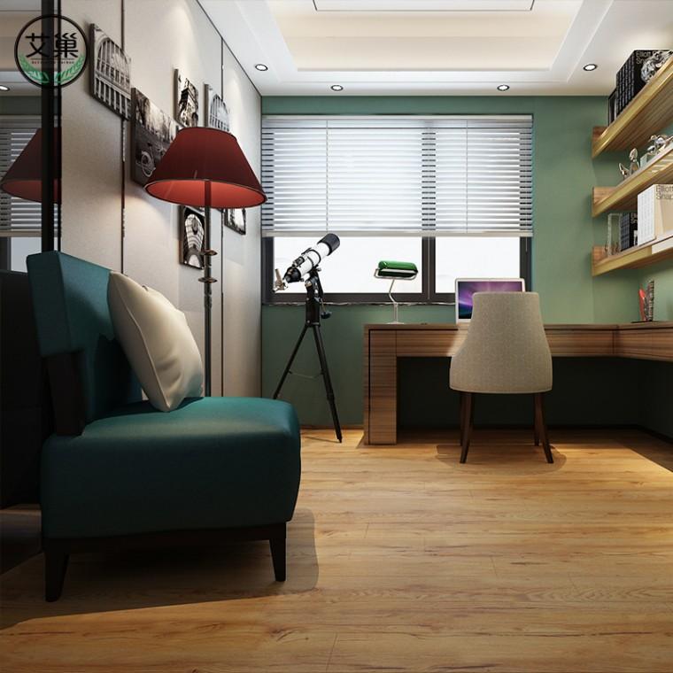廠家直銷竹木碳纖維WPC鎖扣地板,高端品質環保健康木地板